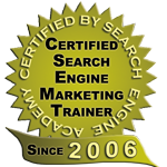 2006 Search Engine Academy Trainer Seal
