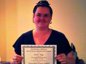 Crissia R. Graduation