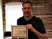Jeff G. Graduation