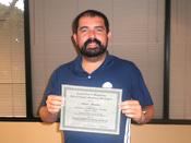 Mario R. Graduation