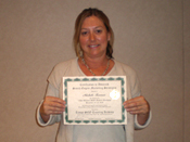 Michele K. Graduation