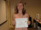Natasha M. Graduation