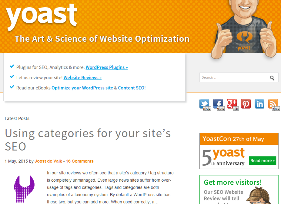 WordPress SEO by Yoast Basics Presentation