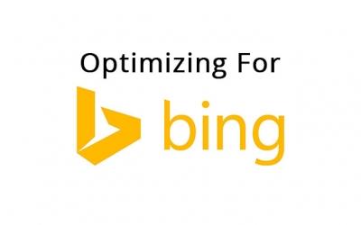 Optimizing For Bing