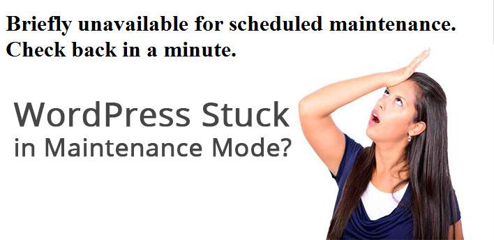 WordPress Stuck in Maintenance Mode? Here's What To Do